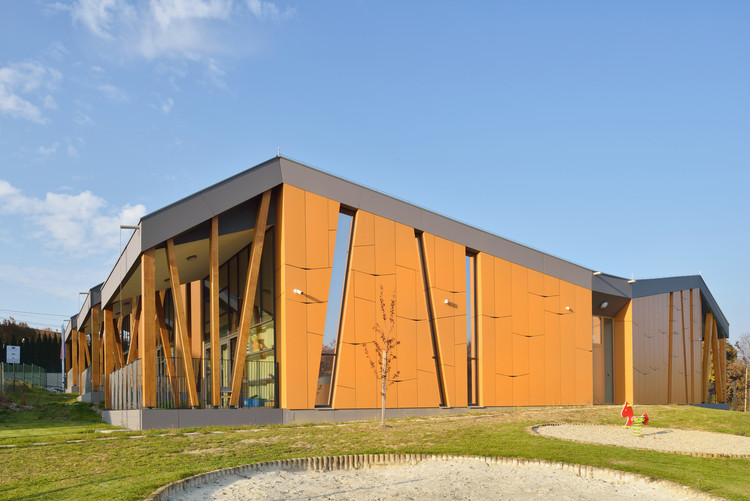 Kindergarten Cerkvenjak  / Superform, Courtesy of SUPERFORM