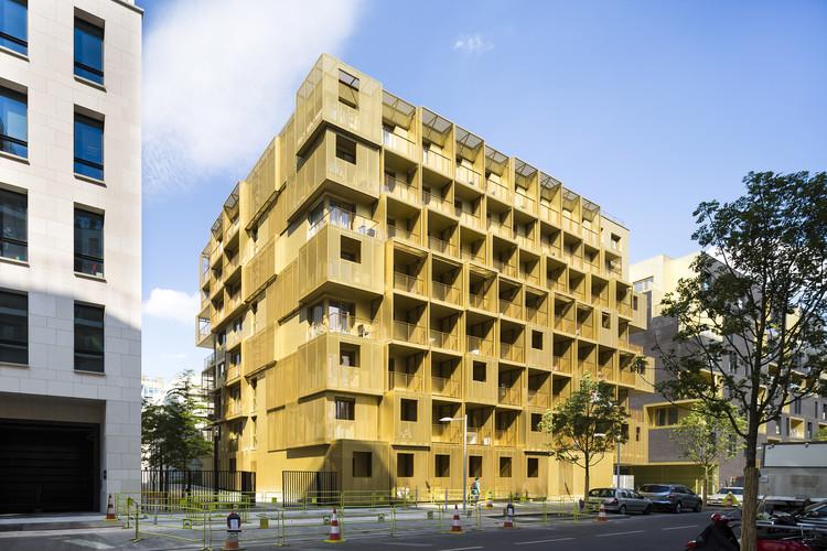 Golden Cube / Hamonic + Masson & Associés, © Sergio Grazia