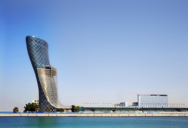 International Firm RMJM Celebrates 60 Years, Capital Gate ADNEC, 2010. Image Courtesy of RMJM