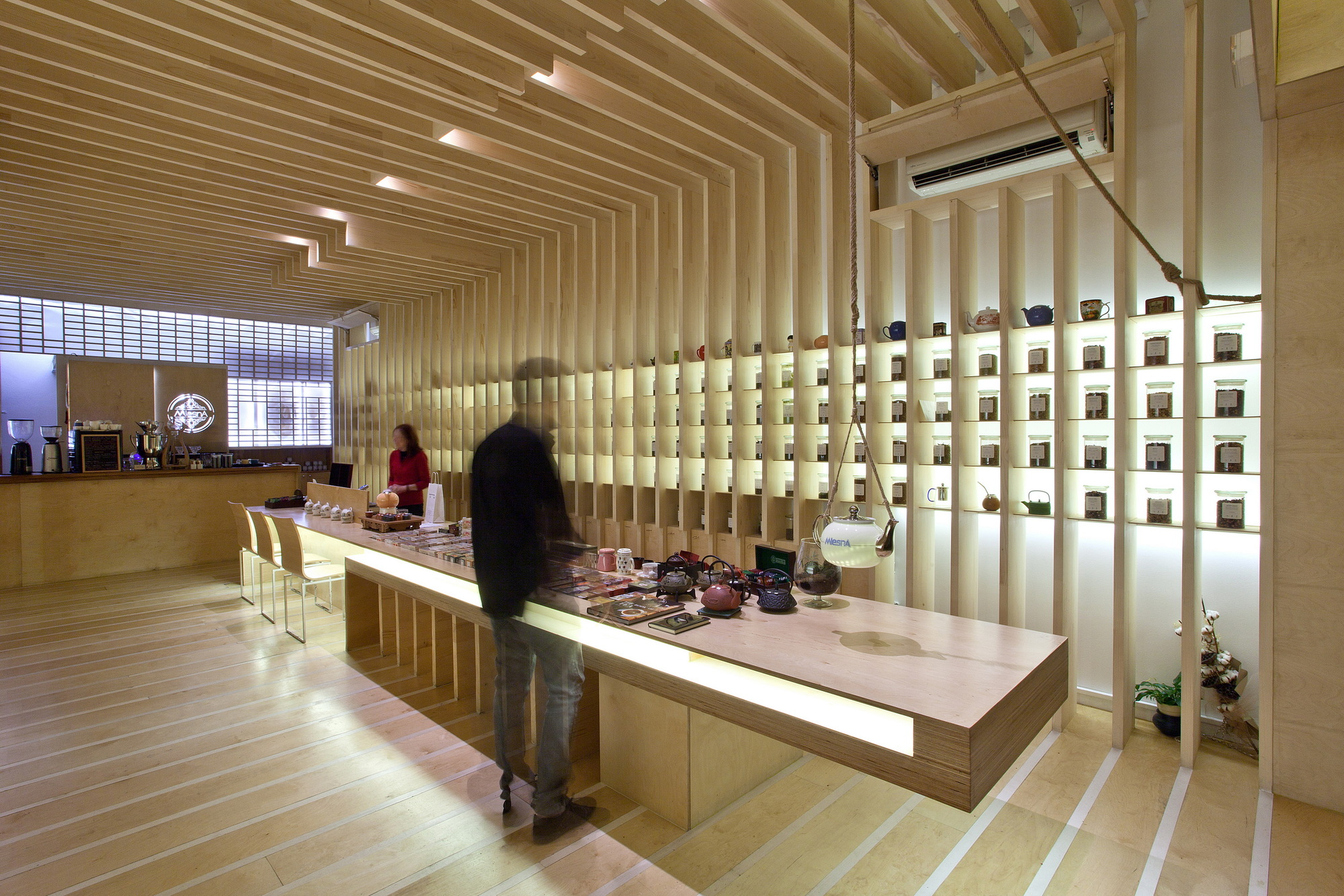 To tsai tea room georges batzios architects archdaily for 1800 salon chicago