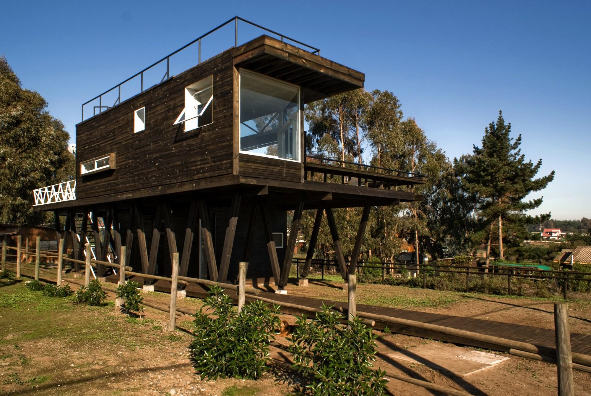 Casa cerro tacna drn architects archdaily m xico - Proyectos de casas rusticas ...