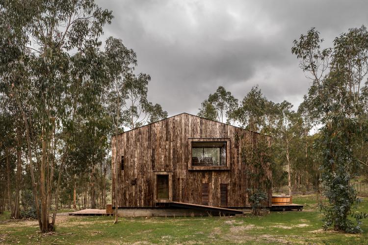 Tunquen House  / DX Arquitectos, © Pablo Blanco Barros