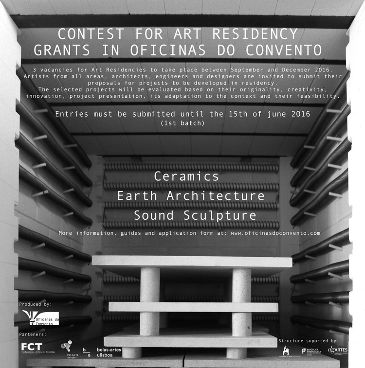 Call for Submissions: Contest for Art Residency Grants in Earth Architecture, Ceramics and Sound Sculpture