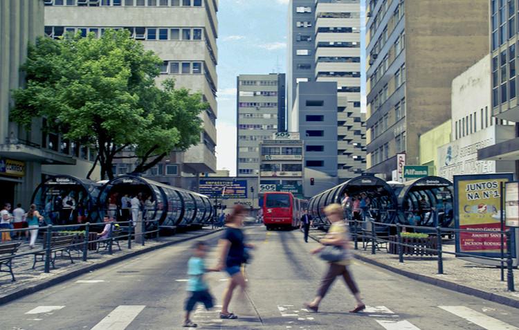 Curitiba é incluída na lista de cidades mais limpas do mundo, Curitiba. Image © Cristina Valencia, via Flickr. CC