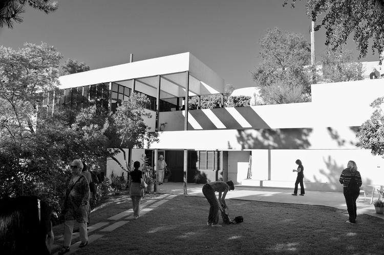 Em foco: Richard Neutra, Lovell House, 1929. Image © Flickr user aseles licensed under CC BY-ND 2.0