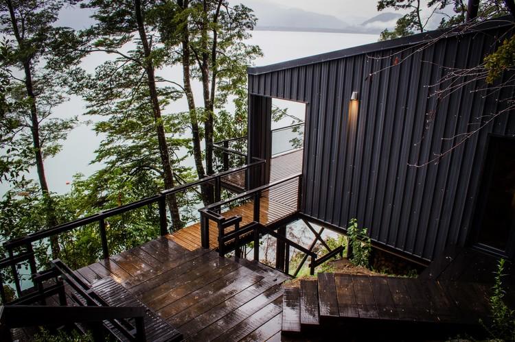 Casa en el Lago Todos Los Santos / Apio Arquitectos, © Alejandra Valenzuela