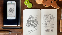 "Moleskine Synchronizes Analog and Digital Sketching with their ""Smart Writing Set"""