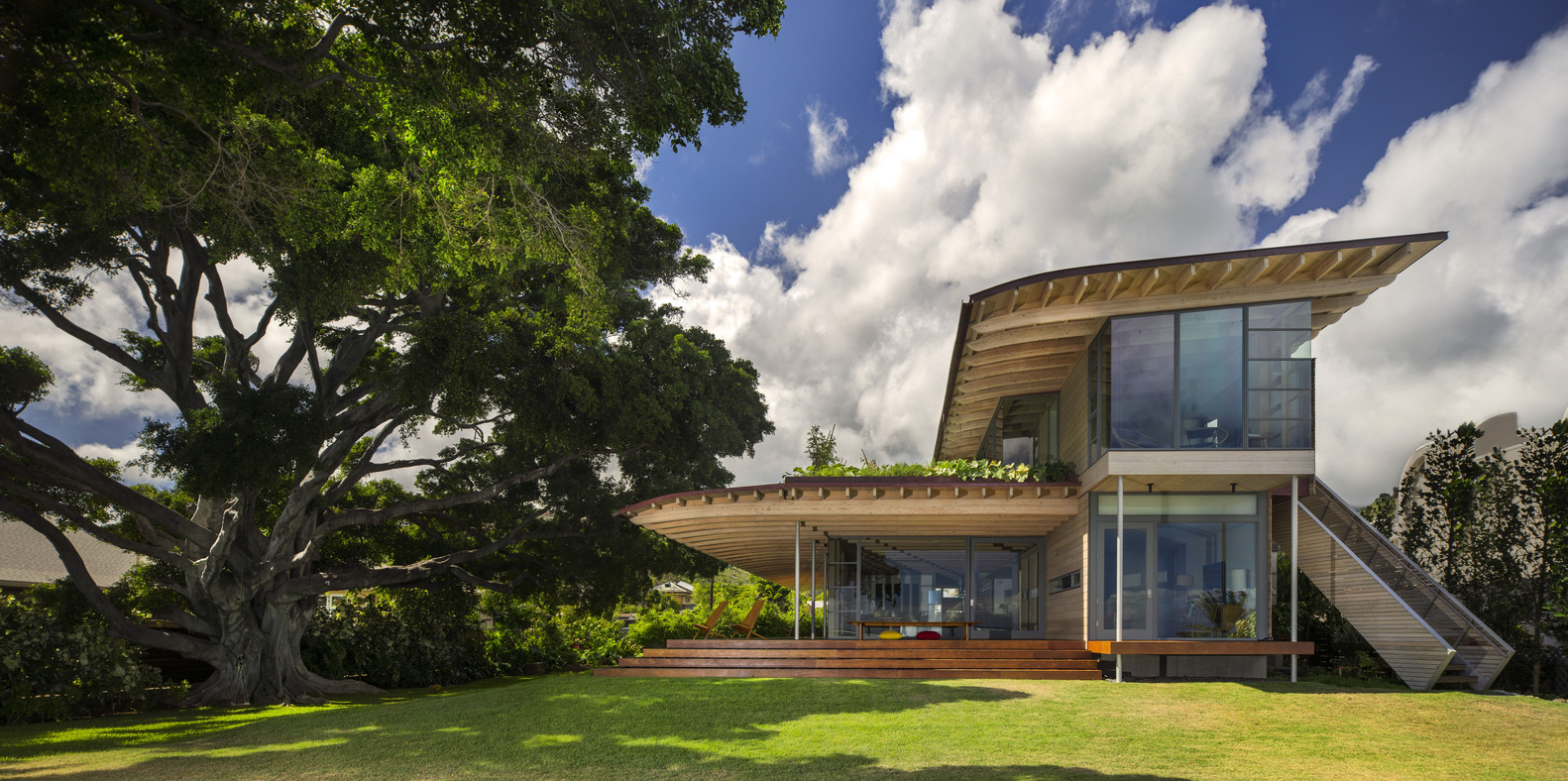 AIA Names 10 Best US Houses Of 2016,Custom Housing: Island Residence;  Honolulu