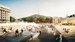 GRAFT Wins Competition to Design the Rose Square in Georgia