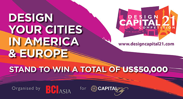 Design Capital 21 Competition – Calling for Entries!, Courtesy of BCI Asia