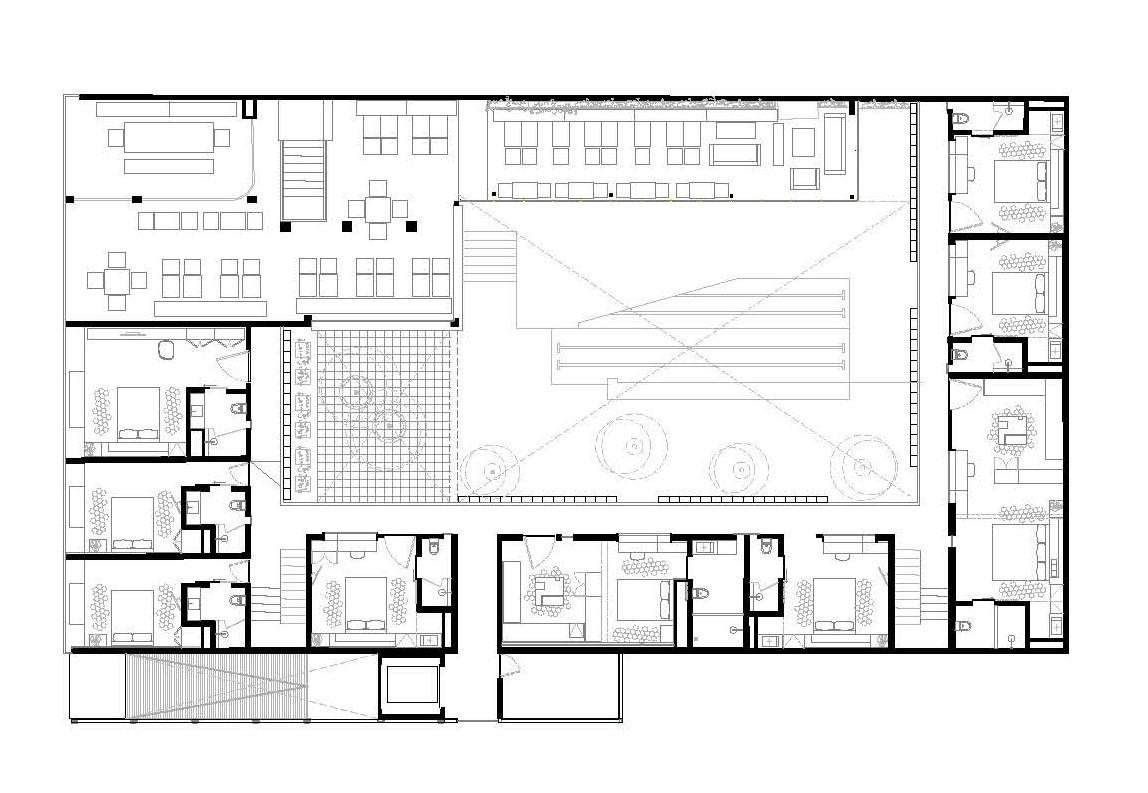Galer a de hotel carlota jsa 12 for Asilo de ancianos pdf