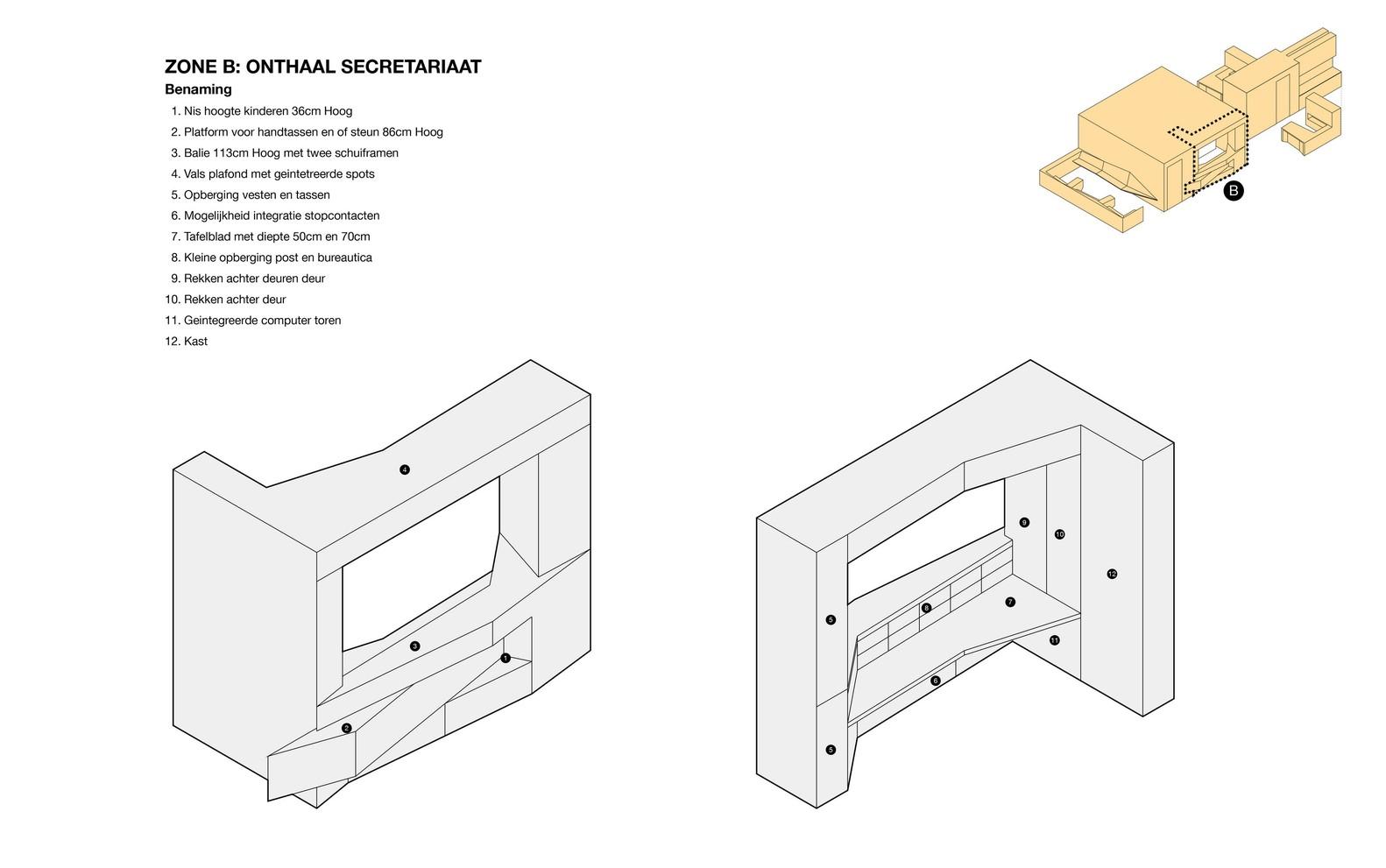 Stellingkast Diepte 50 Cm.Gallery Of Medical Practice De Schuyter Joshua Florquin Architects