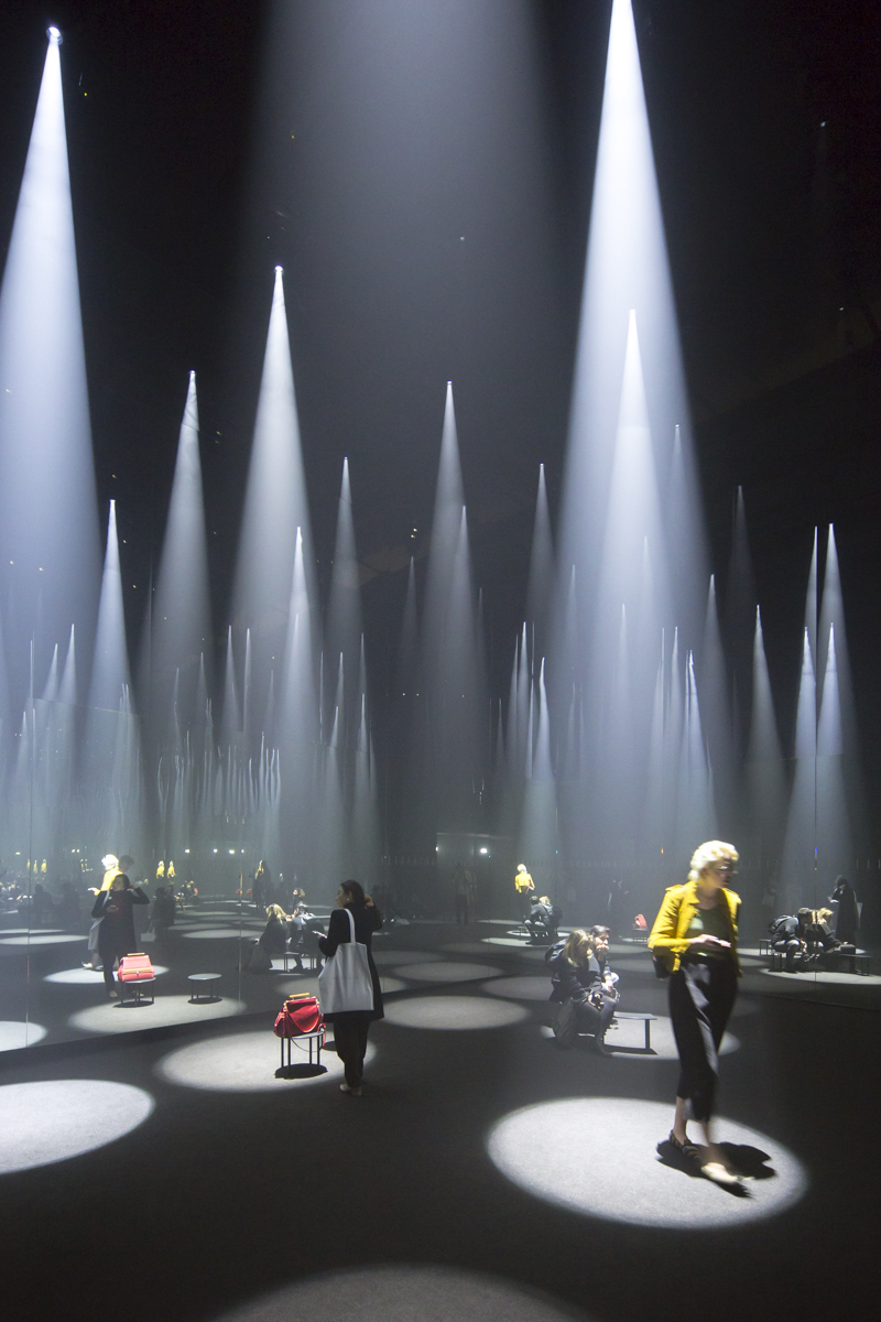 Gallery of sou fujimoto installs a forest of light for cos at 2016 salone del mobile 2 - Finestra mobile cos e ...