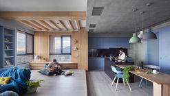 Apartamento Blue and Glue / HAO Design
