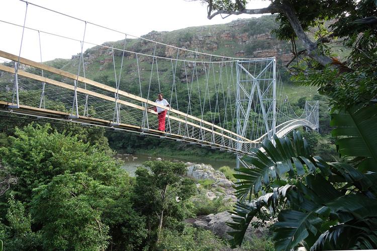 Mzamba Bridge  / CUAS + buildCollective NPO, © Marlene Wagner