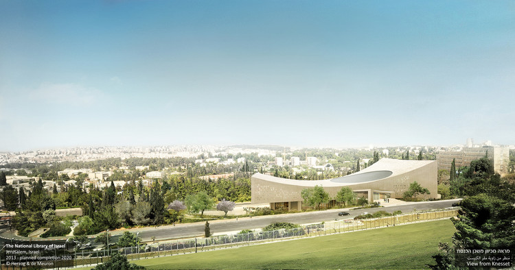 Herzog & de Meuron Share New Images of the National Library of Israel, Courtesy of Herzog & de Meuron