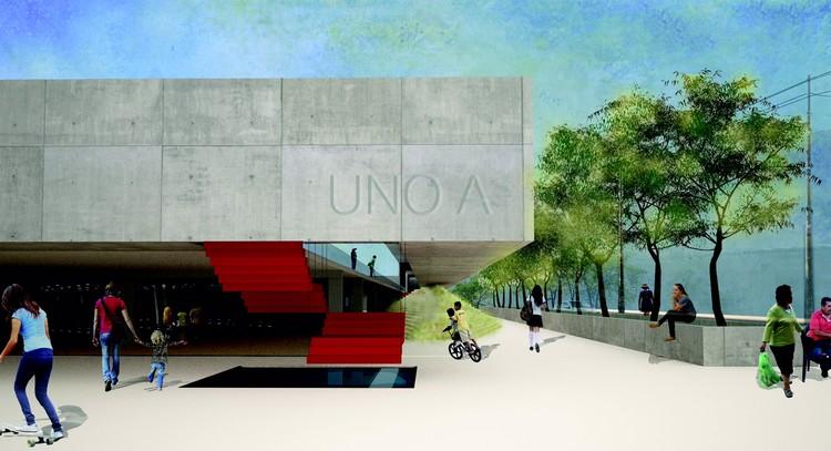 Paraguay revela propuesta de memorial en honor a víctimas del incendio de Ycua Bolaños, Cortesía de -=+x- arquitectura y mobilario