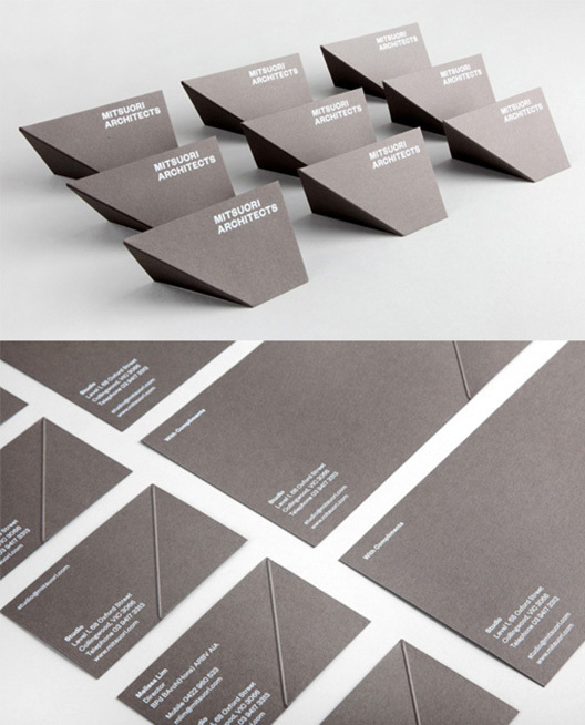 20 Creative Business Cards for Architects