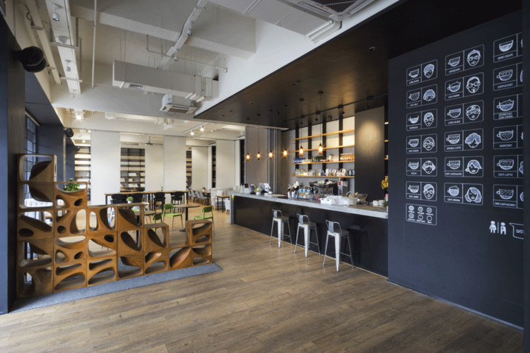Variable Wonderful Space - Underline Cafe / LYCS Architecture, Courtesy of LYCS Architecture