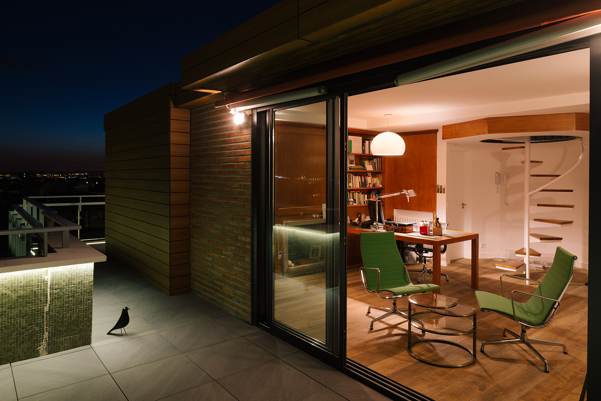 Gallery of a chalet in the sky of madrid i arquitectura - Garden center madrid ...