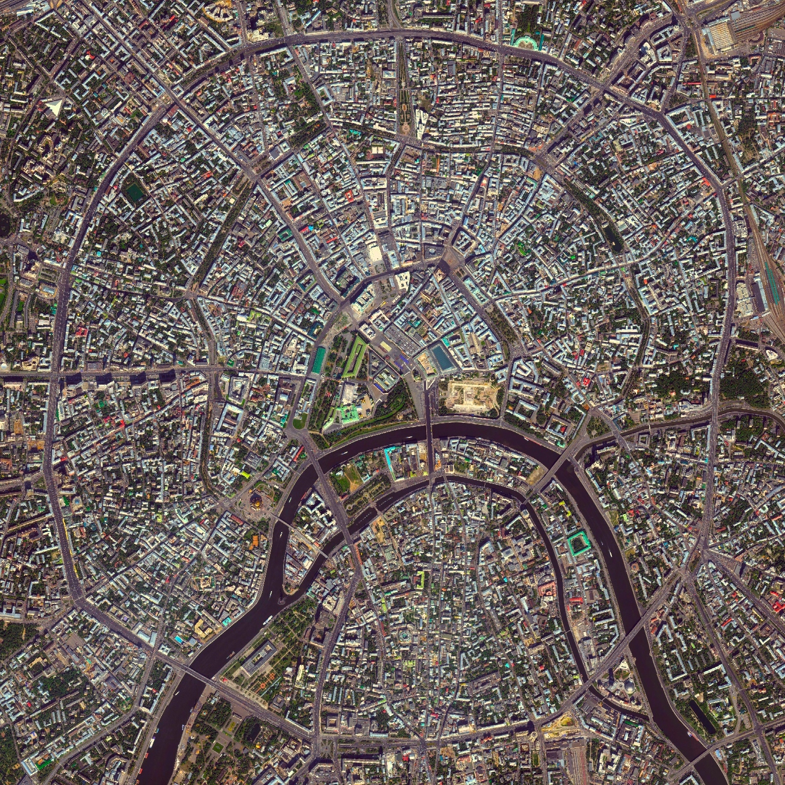 Gallery Of Civilization In Perspective Capturing The World From - Satellite view