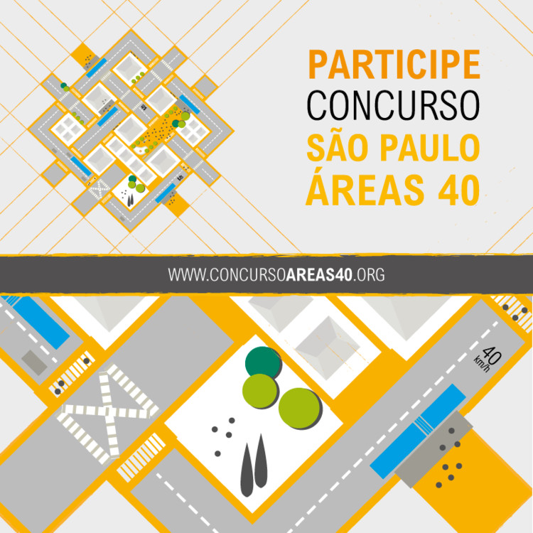 """WRI Brasil Cidades Sustentáveis promove o concurso """"São Paulo Área 40"""", WRI Brasil Cidades Sustentáveis promove competição de ideias inovadoras para redesenhar vias que priorizem velocidades reduzidas e o transporte ativo"""