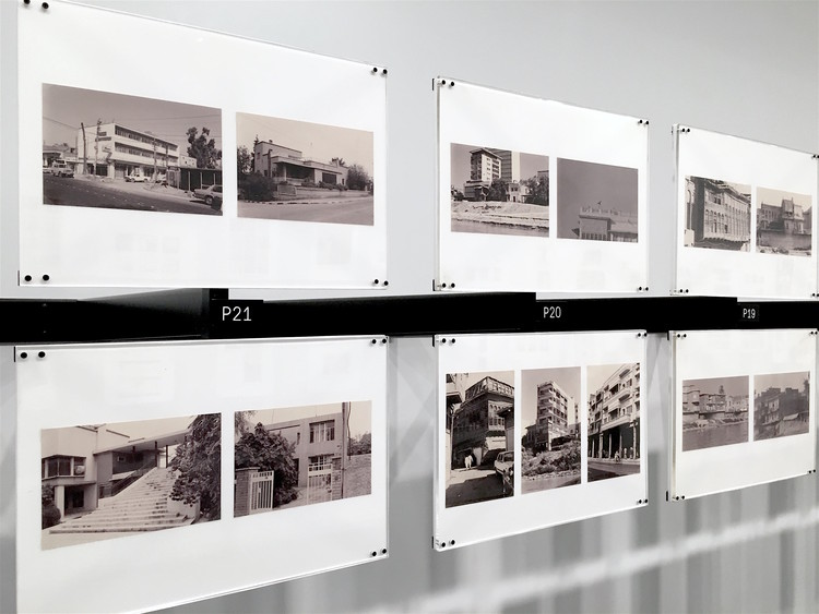 Every Building in Baghdad: The Rifat Chadirji Archive at the Arab Image Foundation, Every Building in Baghdad, installation view at Columbia University's Arthur Ross Architecture Gallery