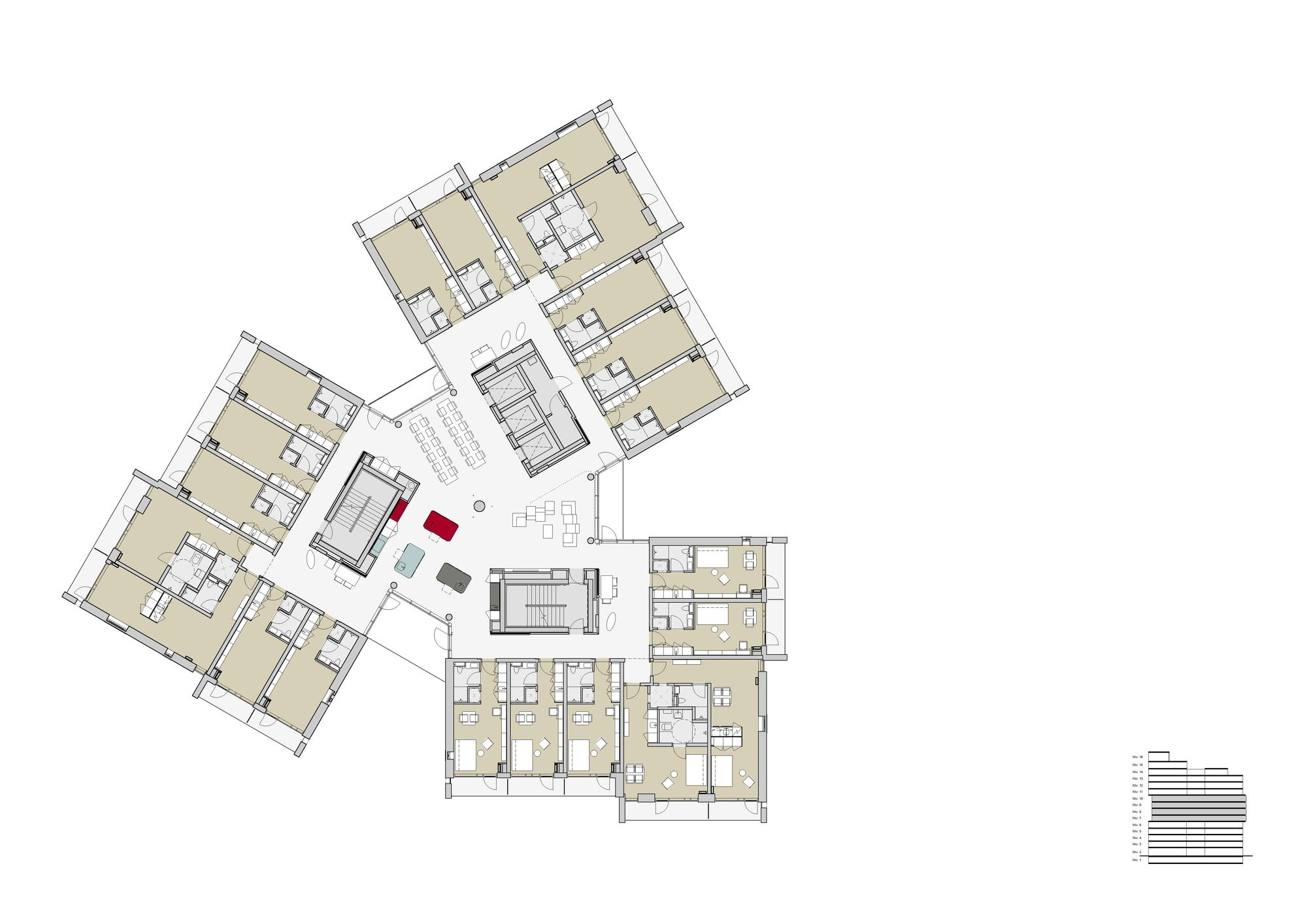Gallery Of Student Housing C F M 248 Ller 46