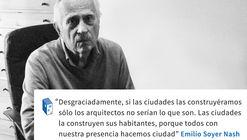 Frases: Emilio Soyer Nash y las ciudades