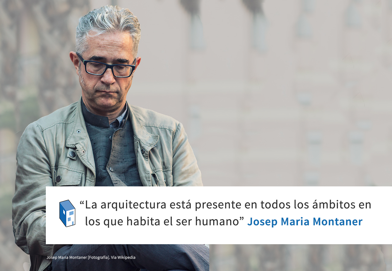 Frases josep maria montaner y la arquitectura archdaily - Arquitecto espanol famoso ...