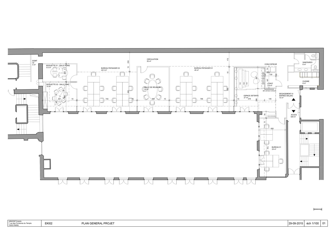 Gallery of Bureaux Ekimetrics 02 Vincent Gloria Architects 12