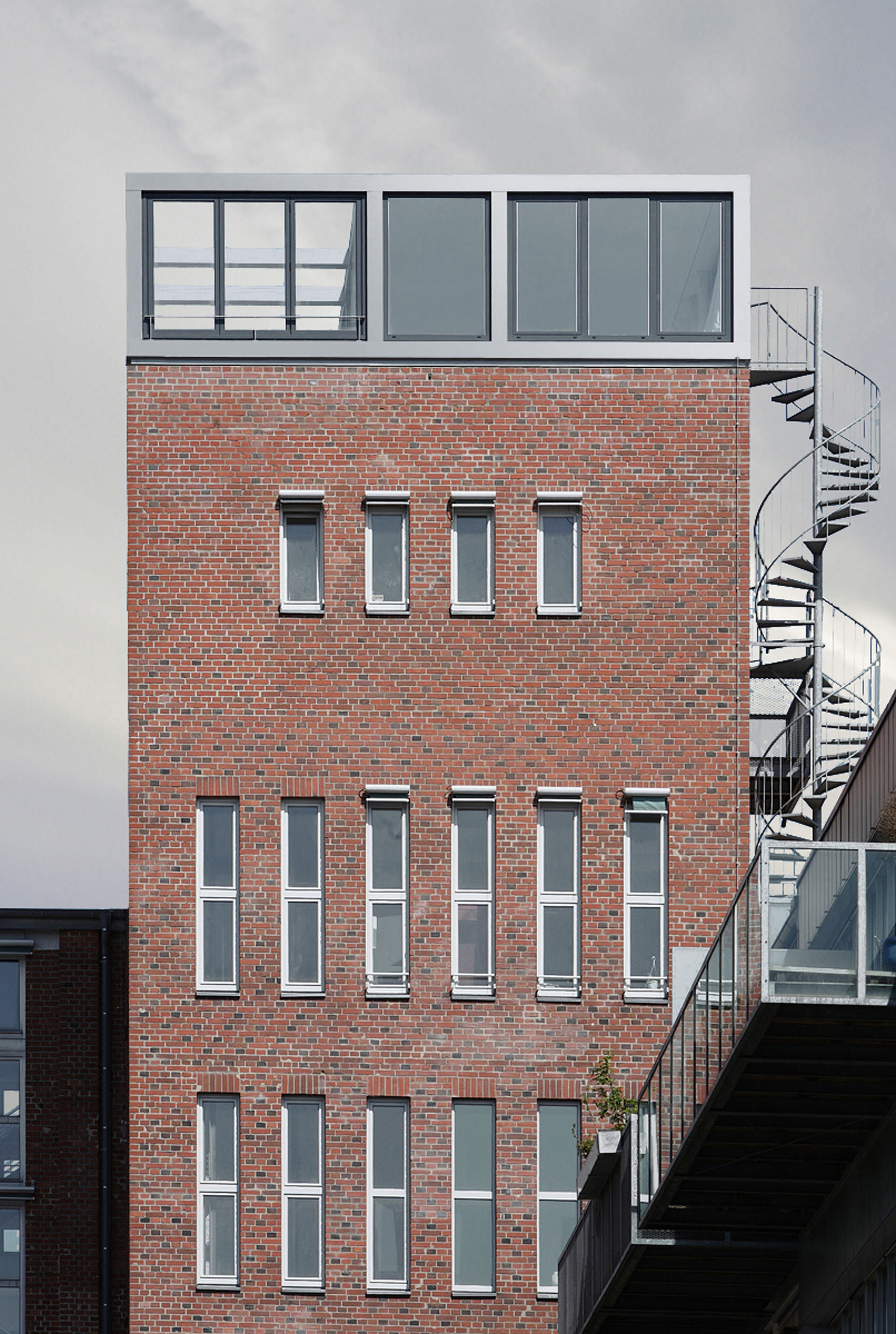 gallery of penthouse apartment in bielefeld architekten wannenmacher m ller 1. Black Bedroom Furniture Sets. Home Design Ideas