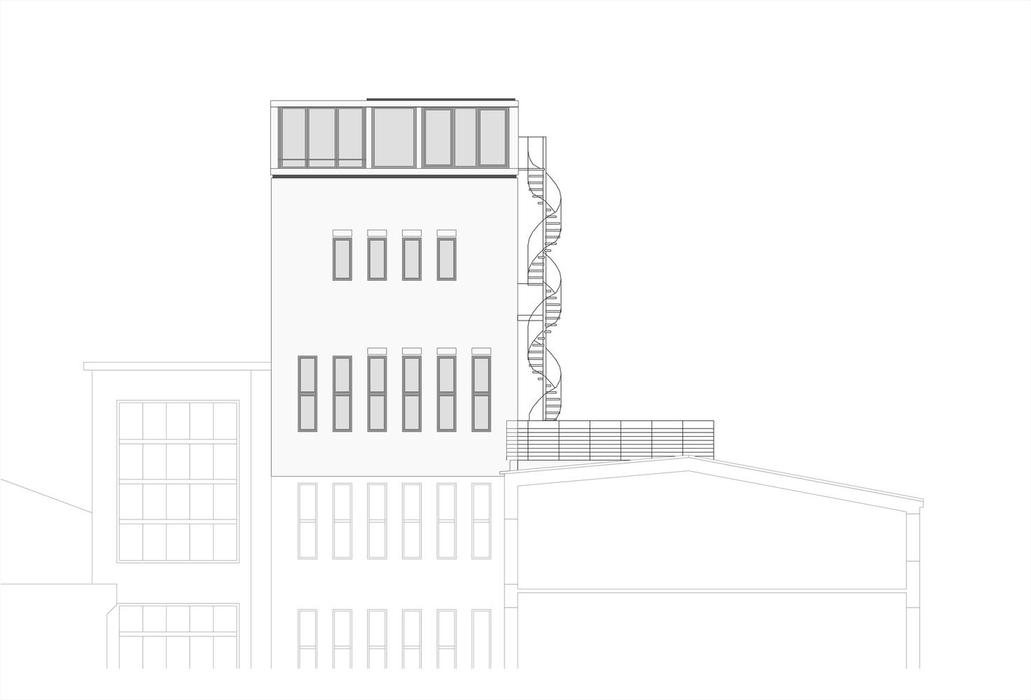 Bielefeld Architekten gallery of penthouse apartment in bielefeld architekten