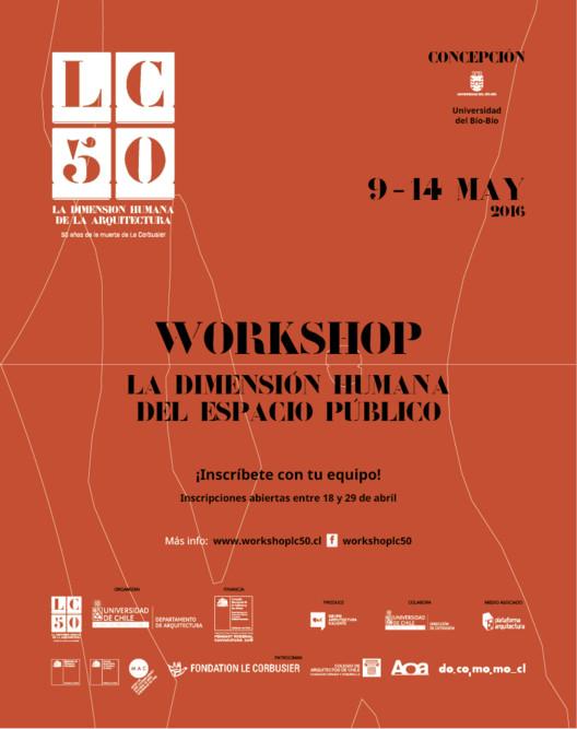 Inscripciones abiertas para el Workshop 'LC 50, la dimensión humana del espacio público', Grupo arquitectura caliente