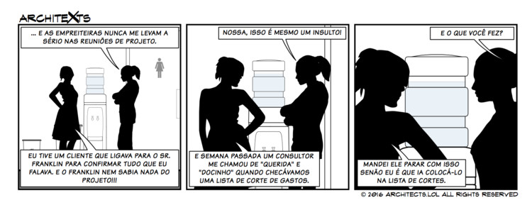 "Comic Break: ""Sexismo na Arquitetura"""