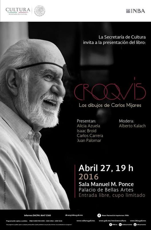 Presentación del libro 'CROQUIS, Los dibujos de Carlos Mijares' / Ciudad de México