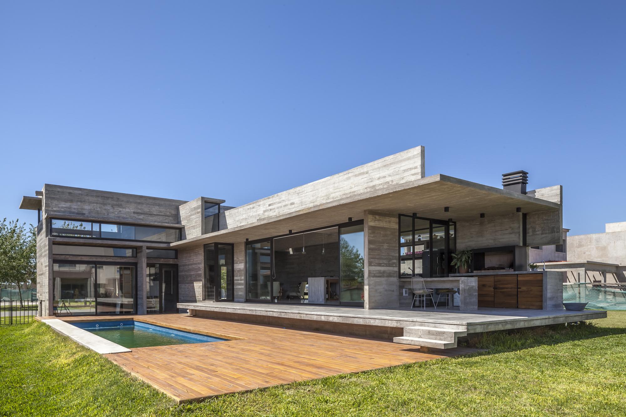 Galer a de casa berazategui beson as almeida arquitectos 7 - Proyectos casas unifamiliares ...