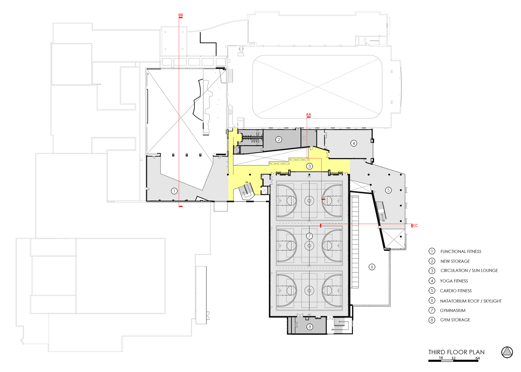 Gallery Of Student Recreation Center Expansion And Renovation Rdg Planning And Design 17