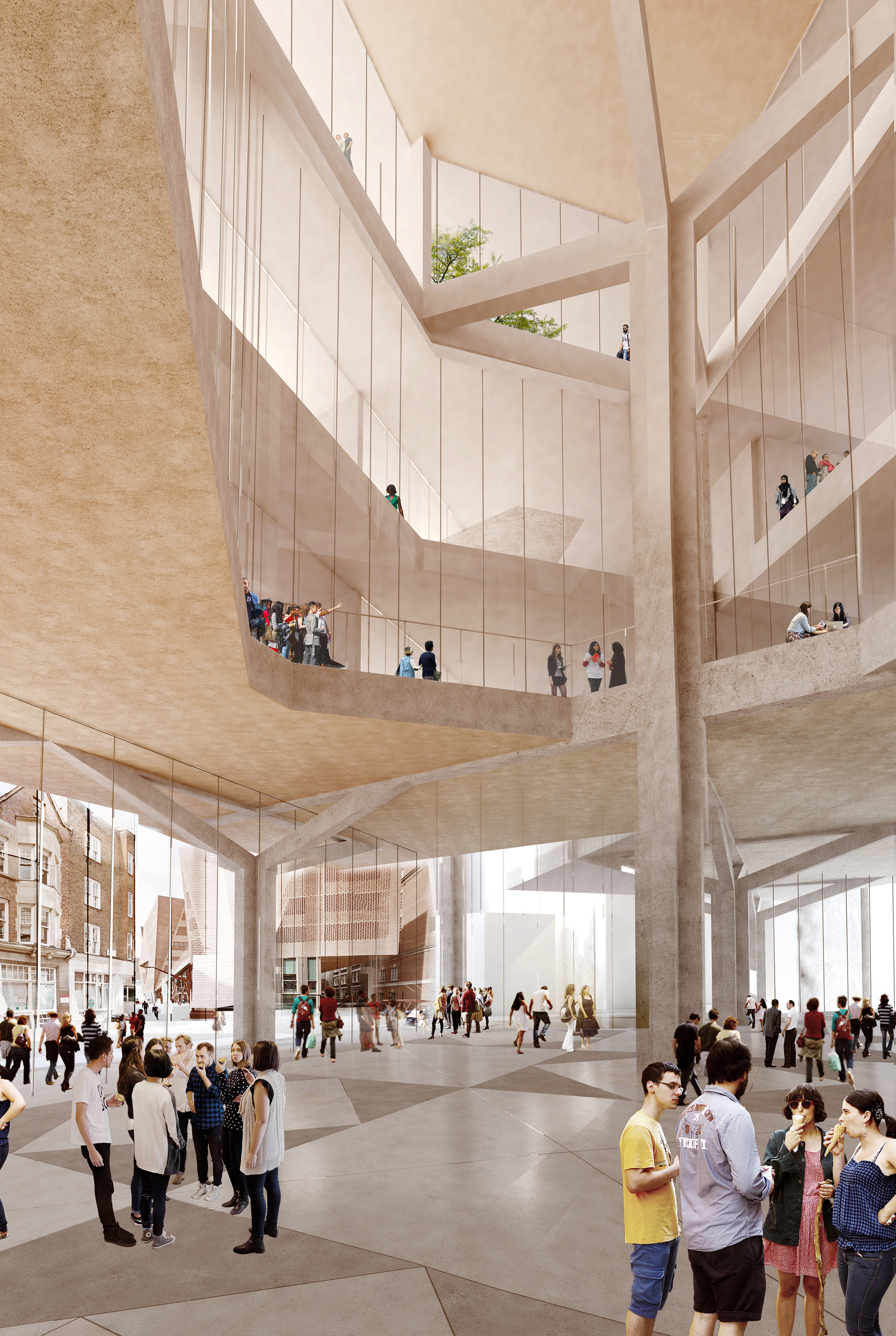Gallery Of Grafton Architects See Off  U0026quot Stellar Competition