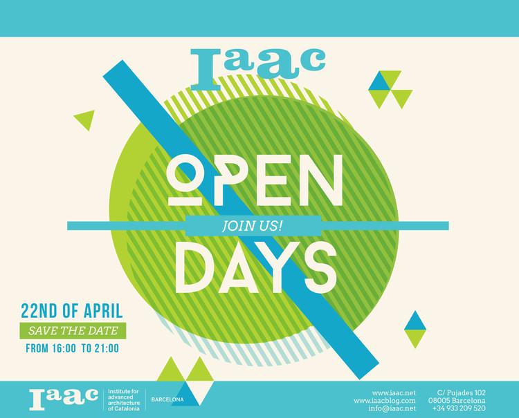 IAAC Open Day - Jornada Puertas Abiertas al Instituto de Arquitectura Avanzada de Cataluña