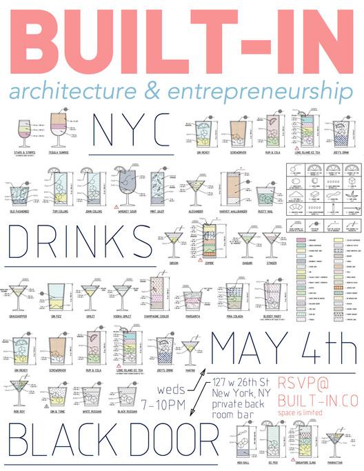 Built-In: NYC Drinks @ Black Door