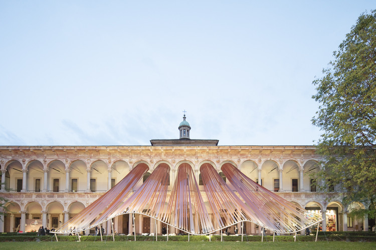 "The Top Five Installations of Salone del Mobile 2016, ""Invisible Borders"" / MAD Architects. Image © Laurian Ghinitoiu"