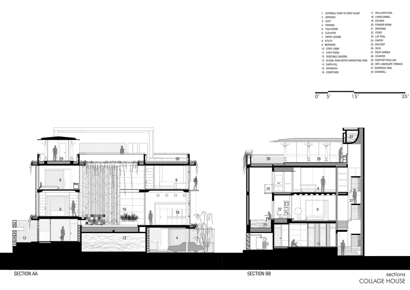 Gallery Of Collage House S PS Architects