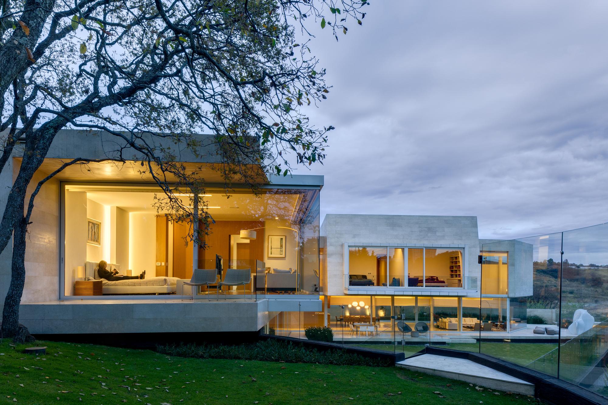 Casa Country Club Migdal Arquitectos Plataforma