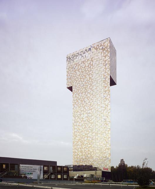 Victoria Tower. Image Courtesy of Åke E:son Lindman