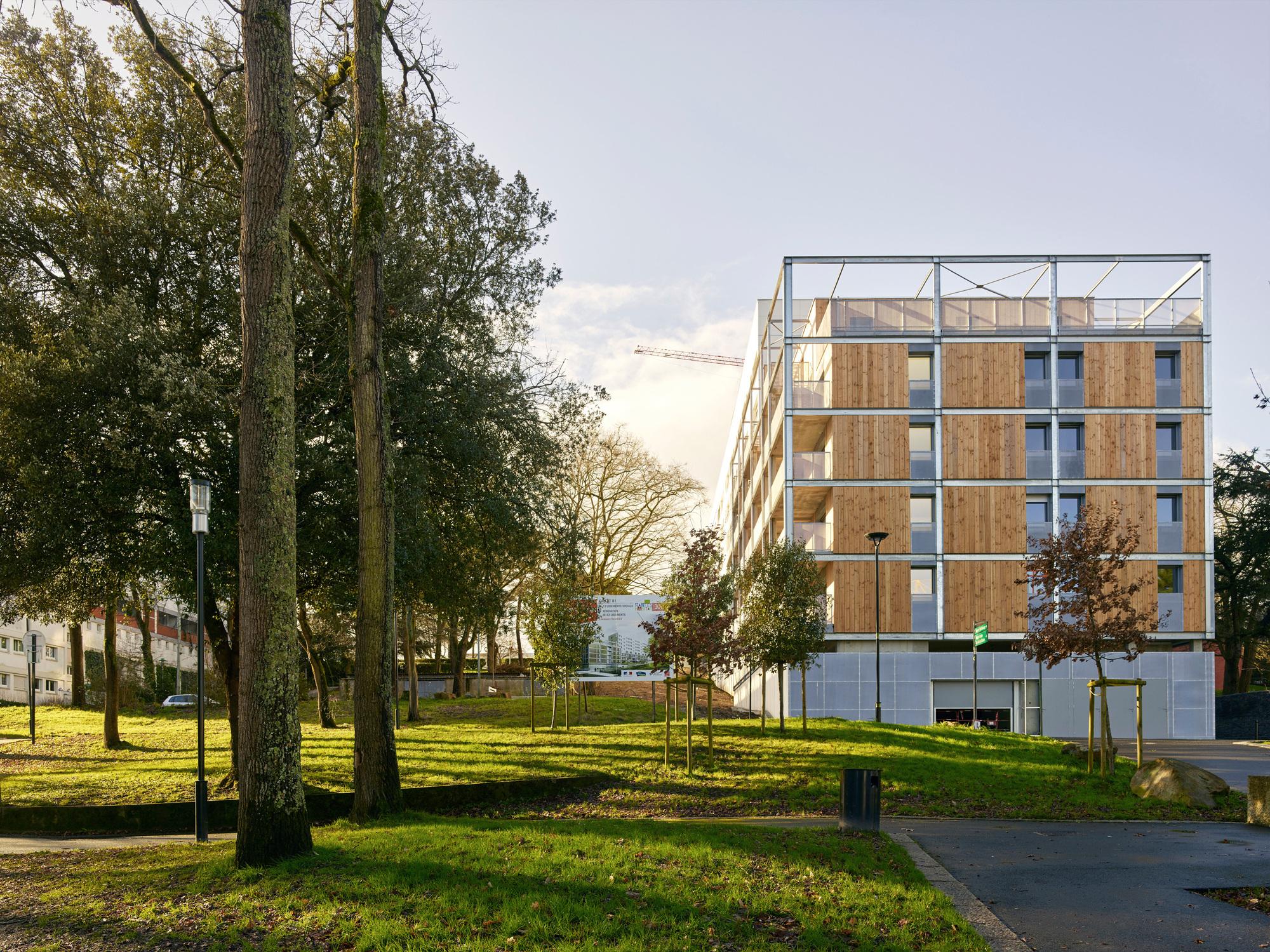 Nantes tag archdaily callot b1 housing jacques boucheton architectes solutioingenieria Choice Image