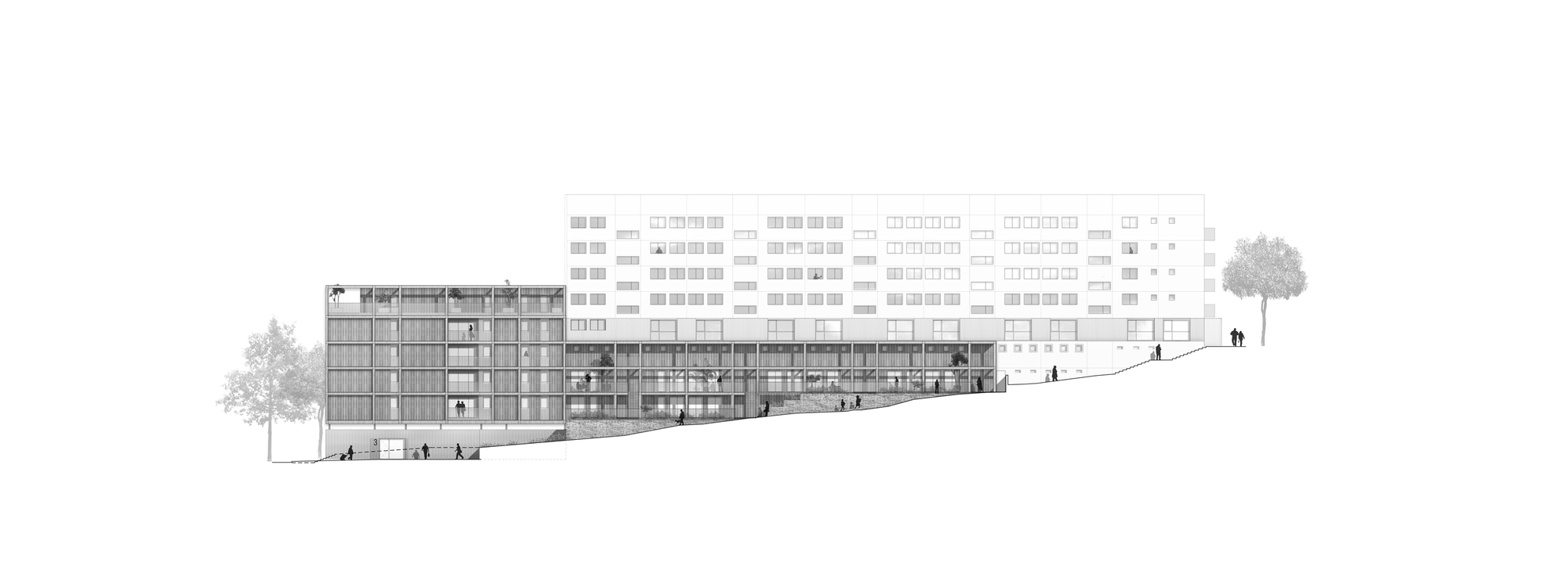 galer a de unidades de vivienda callot b1 jacques boucheton architectes 13. Black Bedroom Furniture Sets. Home Design Ideas
