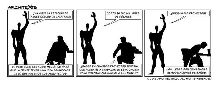 Comic Break: 'Alocados presupuestos de proyecto', © Architexts