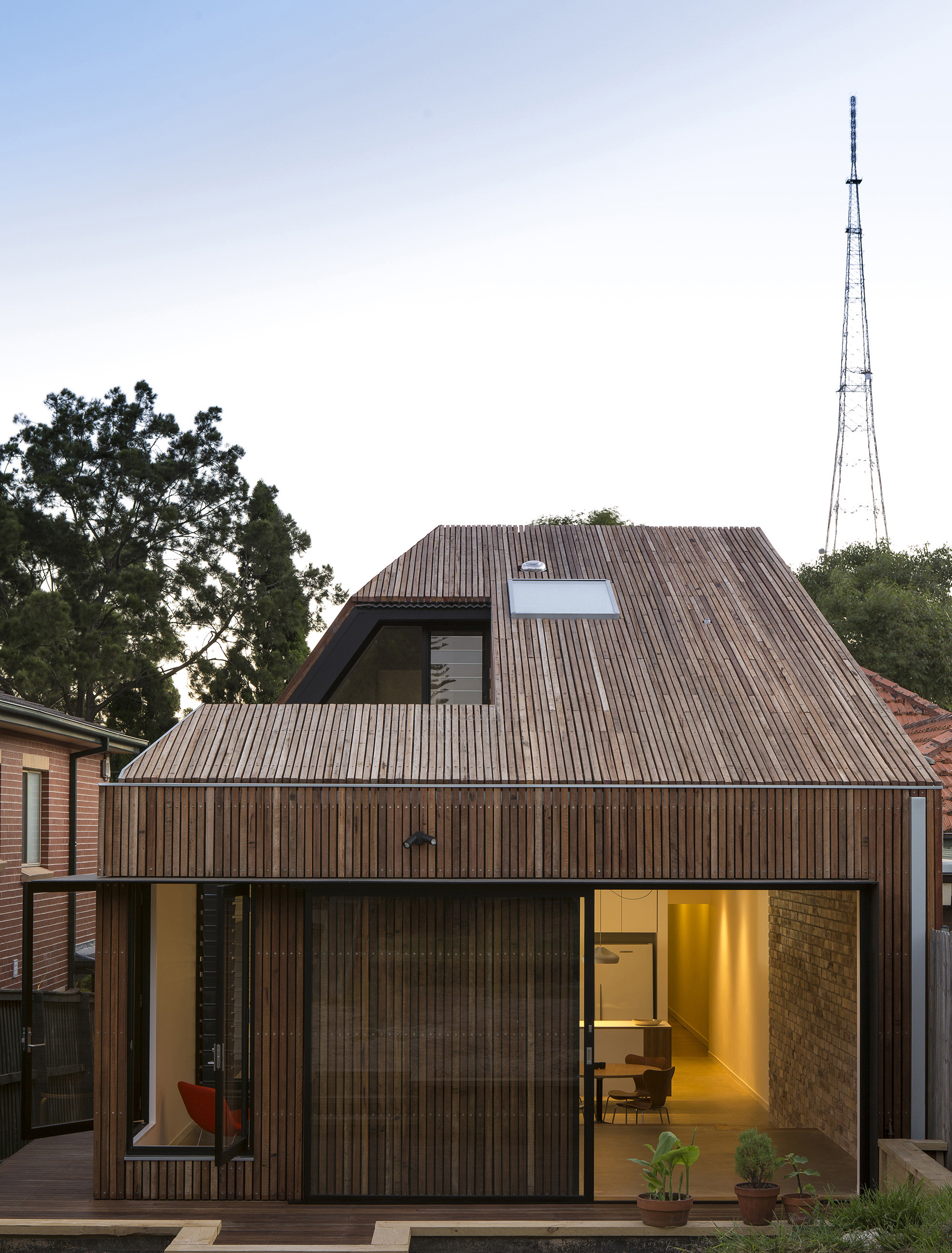 Cut Away Roof House Scale Architecture Archdaily