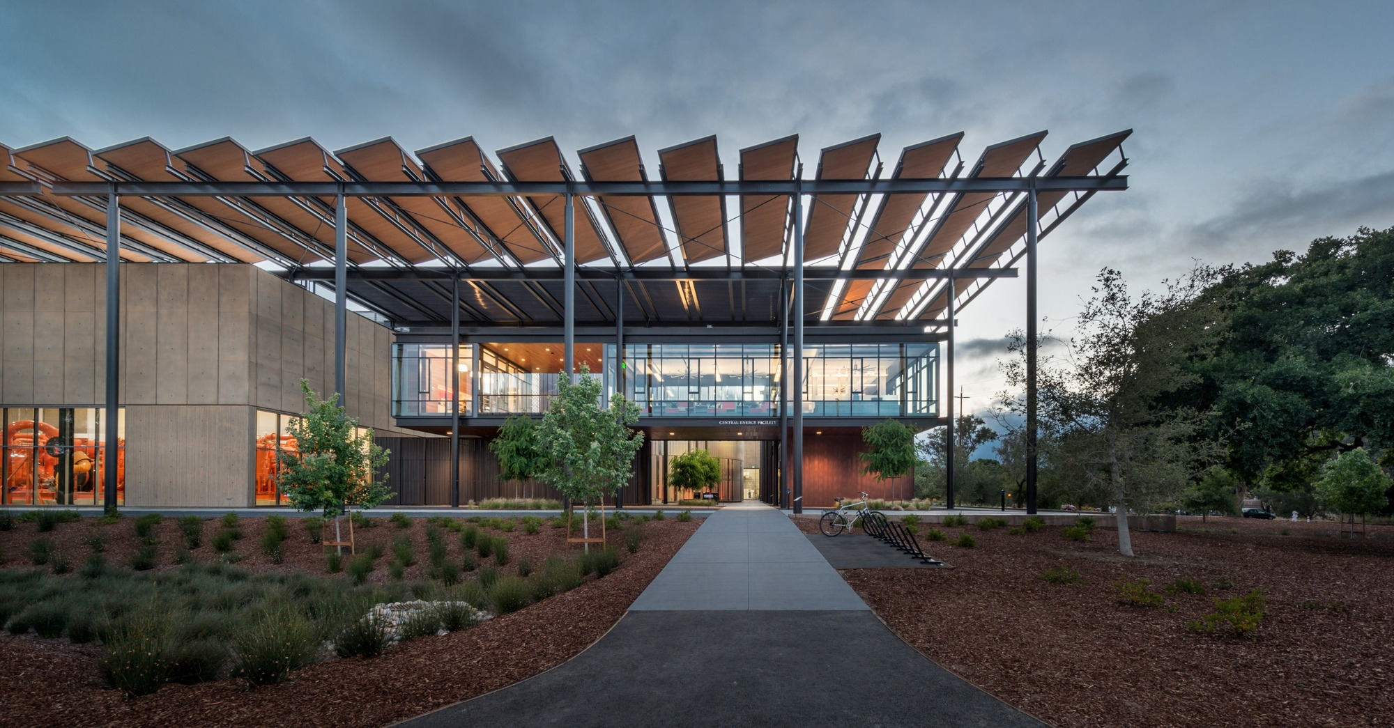 Stanford University Central Energy Facility Zgf Architects Archdaily